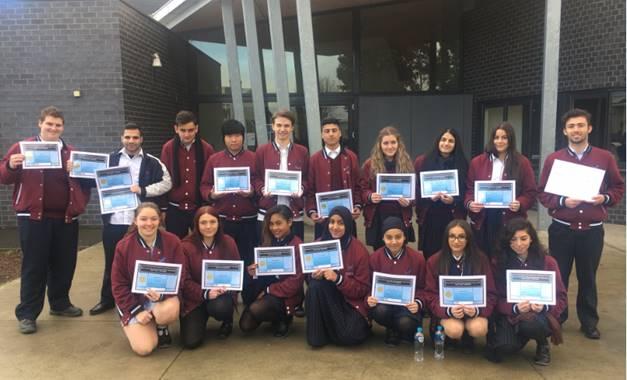 Semester 1 awards